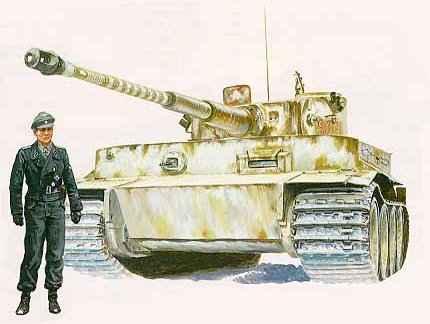 Pz kpfw vi sd kfz 181 tiger tiger i тяжёлый танк